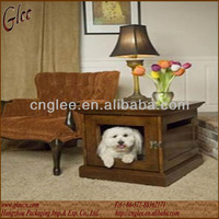 Modern Wooden Dog Crate