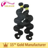 Preferred brand XBL competitive products virgin hair 7A unprocessed brazilian body wave
