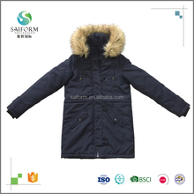 Manufacturer customized cheap woman winter parka coat