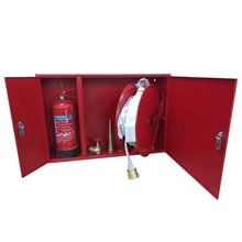 Fire Fighting Horizontal Hose Reel and Extinguisher Cabinets