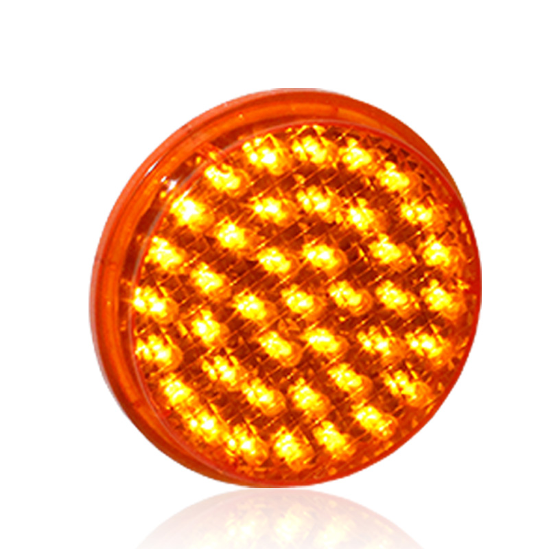 10 Years <strong>Factory</strong> 100mm Module Cobweb Lens Yellow Traffic Signal Light
