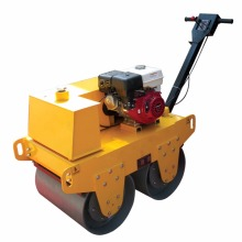 Double drum gasoline handheld vibratory road roller