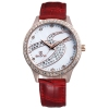 NO 9286 Vintage Wine Leather Band top 10 wrist watch brands