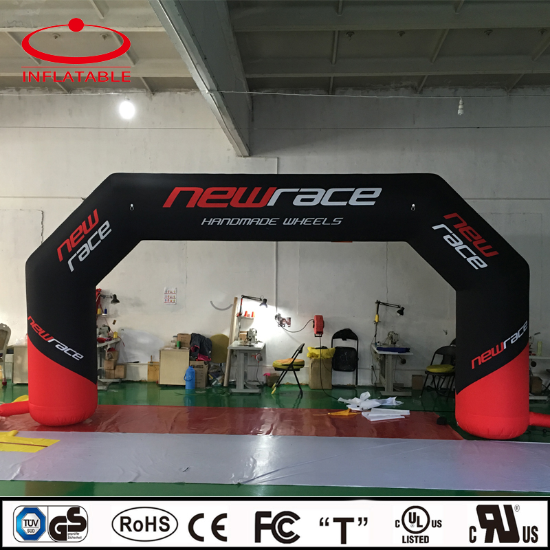 polyester sports inflatable arch , inflatable race start finish line gate