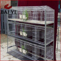 Exporting Galvanized/3 Story Rabbit Cage For Breeding Rabbit