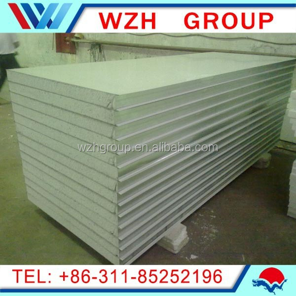 Alibaba High Quality Polyurethane Sandwich Panels for Roof,Wall and Cold Storage china supplier