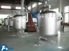 Water water treatment plant used large capacity multi-bag filter for water/juice/milk/honey filtration.