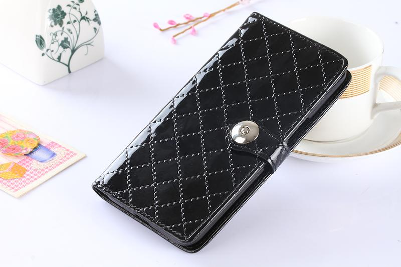 2016 New Luxury Fashion Flip Wallet Patent Leather Case Cover For Sony Ericsson Z5plus with card holder Stand design Wallet bag