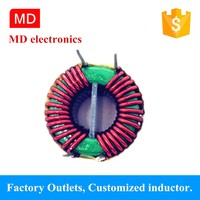 EMI MNZN 2*2.5MH inductor common mode choke filter for electronics