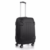 Pure Color ABS Rolling Travel Luggage