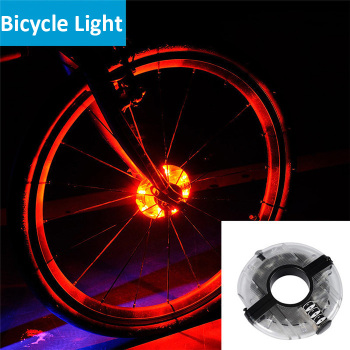 RIGWARL New Bicycle Cycling Hubs Light Bike Front/Tail Light Led Spoke Wheel Warning Light Waterproof Bike Accessories