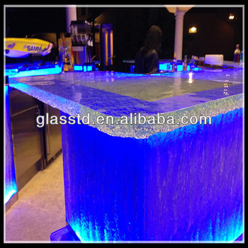 America style wine bar prefabricated bar countertops