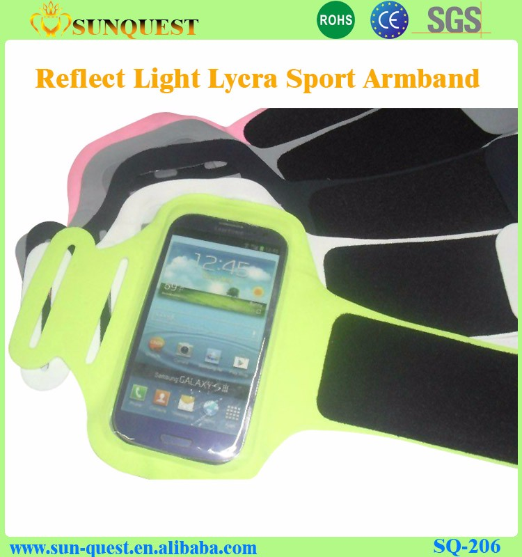 Hot Selling universal Custom Safety Sports Armband For Blackberry HTC one mobile phones