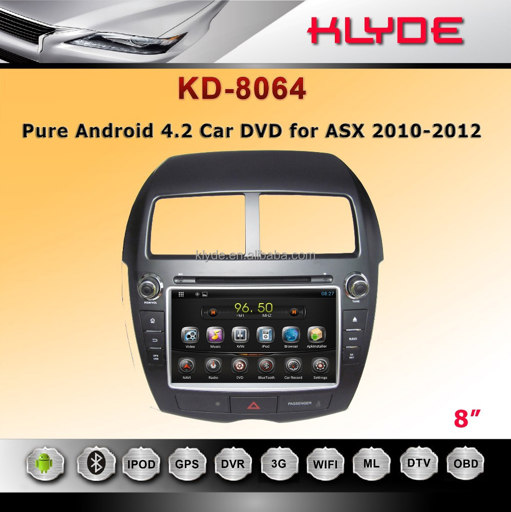 KLYDE factory 2 din android4.4.4 Digital Touch Screen Car DVD/GPS Player CITROEN C4