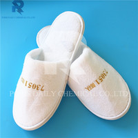 High quality wholesale coral fleece disposable hotel slipper