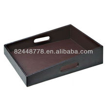 Tower tray PU leather