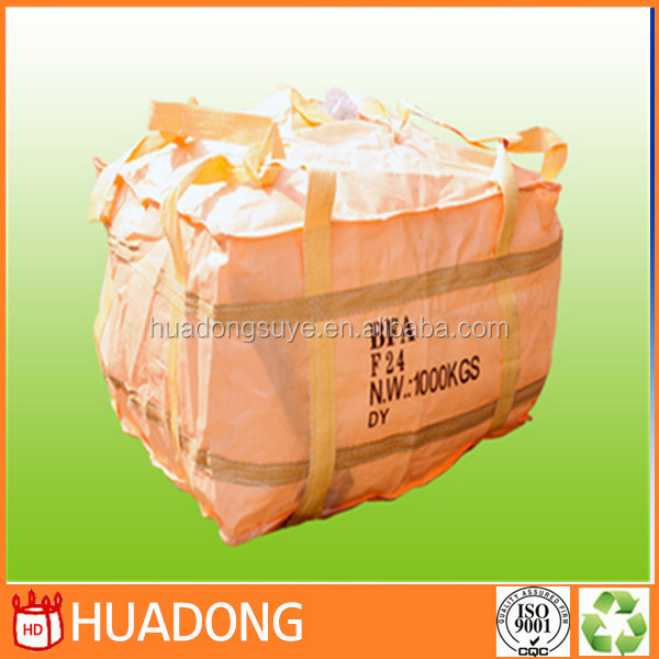 manufacture PP jumbo bag/1000kg cicular super sack/U-type big bag /PP FIBC Bag (for sand,building material,chemical,food)