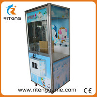 Gold Supplier China toys crane machine grooved token