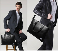 New Arrival Fashion Design 100% Genuine Leather Briefcase Business Bag for Men