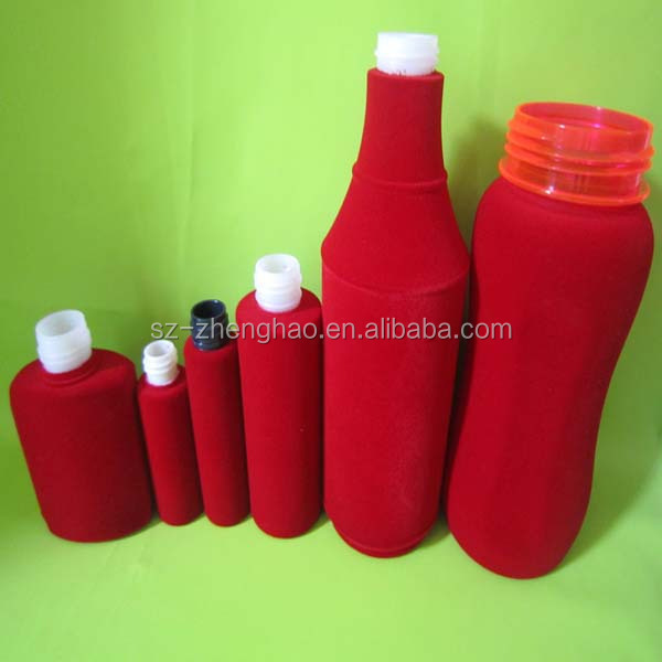 Colorful Plastic Body Oil Spray With Custom Design