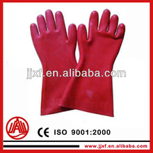electrical rubber hand gloves/electric safety glove