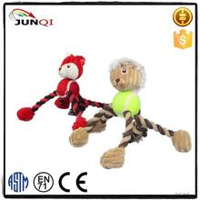 Top Quality Cute Plush Pet Products tree rope