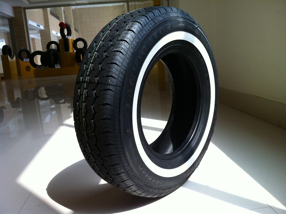 Alibaba China r15 cheap winter passenger white wall vehicle semi-steel radial car tire prices