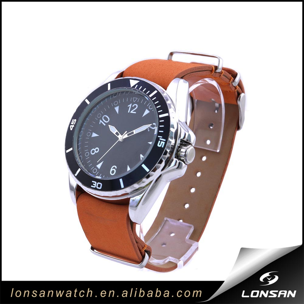 Cool Casual Man Sport Watch LS-M3216 orange