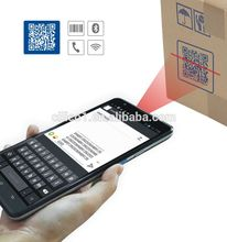 "pda phone android 7"" industrial logistics tablet with 7200mAH battery touch screen handheld pda barcode scanner"