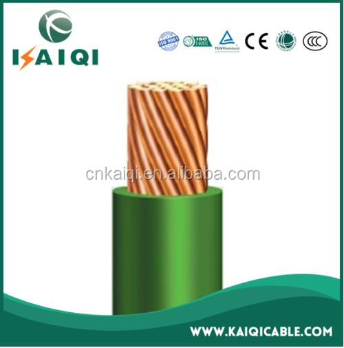 low voltage PVC insulated aluminum or copper conductor different types of electric wire and cable