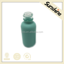 Eco-Friendly Boston Round Beauty Cosmetic Glass Bottle Essential Oil