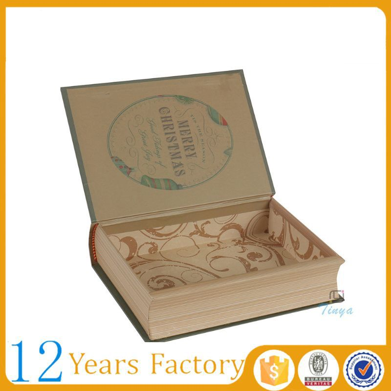 handmade gift packaging antique book boxes