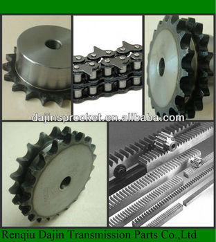 Dajin 1045 different type excavator drive sprocket