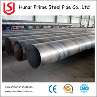 Construction Material SSAW spiral welded steel pipe 8 inch SSAW spiral welded steel pipe