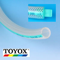 Various Size of TOYOX soft PVC food tube. Fluids for Oil,Foods (fat),delivering foods, beverages,hot water.