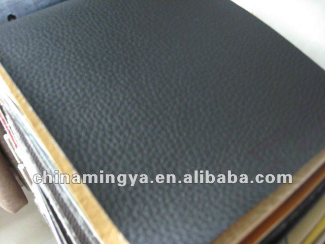 Hot Sell PVC Leather Synthetic Leather With Colorful Backing Fabric PVC/Genuine Leather/PU Leather Pocket Notebook