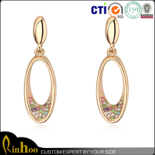 hot trend fashion style top sale in Europe and America countries teardrop earring