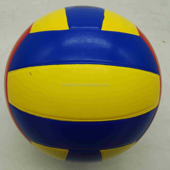standard size beach volleyball,colorful volleyball size 5,natrual rubber volleyball 5#