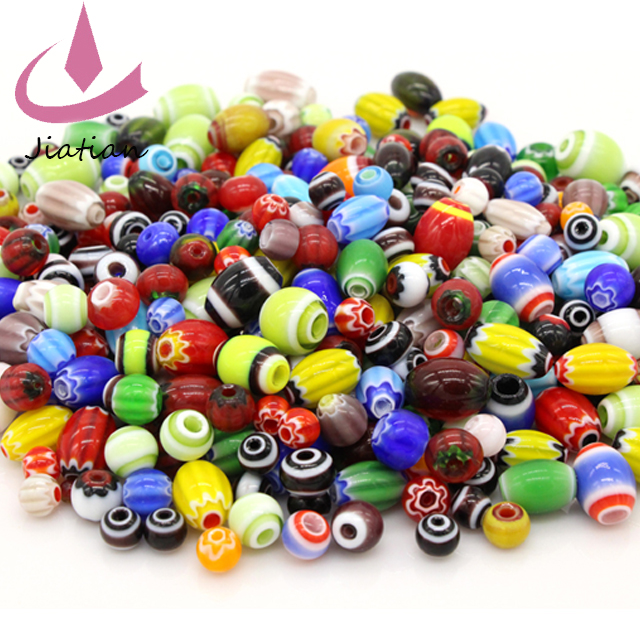 Mixed handmake murano lampwork glass beads for jewelry making