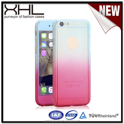 for iphone 7 ultra thin full cover pc gradient color case cover for iphone 7