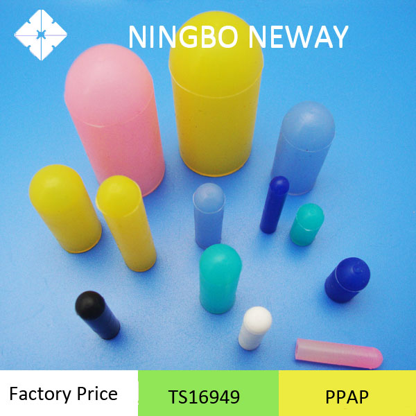 Molded custom Silicone terminal rubber cover