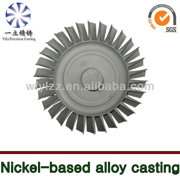 Nickle base alloy used for volvo yanmar generator spare parts water jet boat engine disesl engine parts
