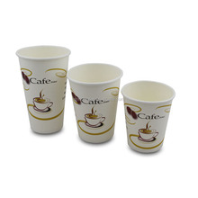 14oz Single Wall Paper Cup Printed for Coffee
