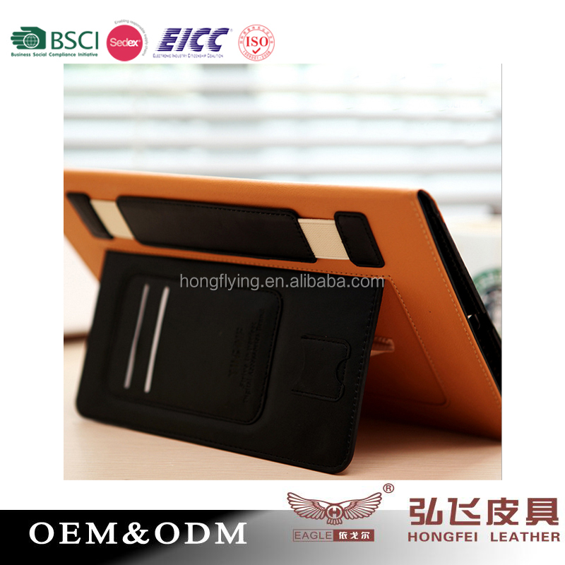 Multi-functional book style protective case for iPad 5