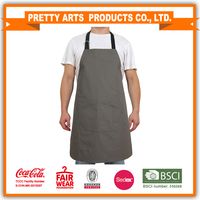 Promotion adult long bib aprons for cooking