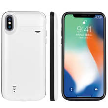 5000 mah Power Bank Phone Battery Charger Case with Kickstand For Apple Iphone x