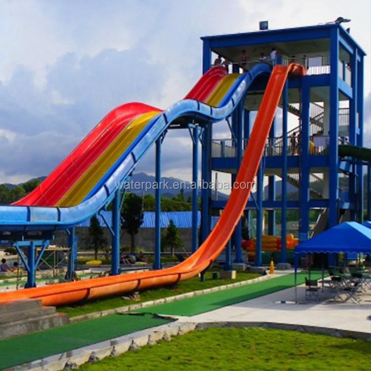 Amusement Park Playground Slides Fiberglass Water Slides Prices Swimming Pool Slide For Sale