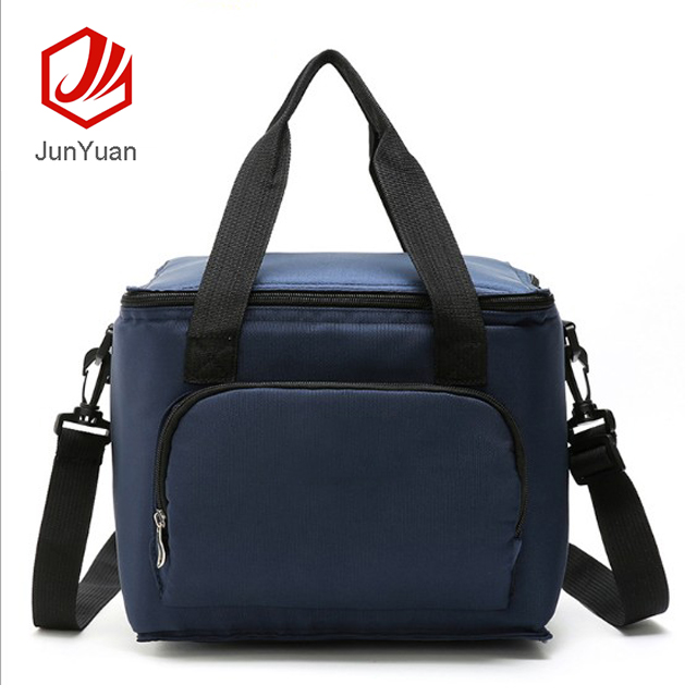 JUNYUAN Insulated Cooler Bag Polyester Floral  Picnic bag Lunch Bag