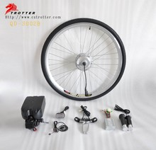 electric bicycle 700C wheel kit ,ebike rear conversion kit with CE approved