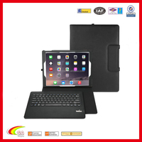 2016 Mulit-fuction Leather Keyboard Cover for Apple iPad Pro, Bluetooth Keyboard For Apple iPad Pro